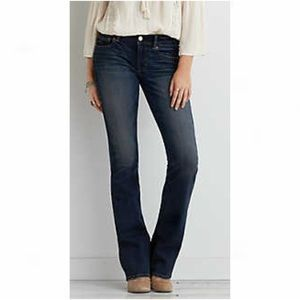 Dark boot cut jeans from American Eagle